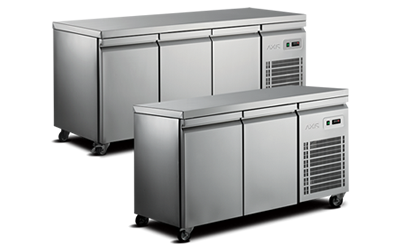 counter bfridges and freezers
